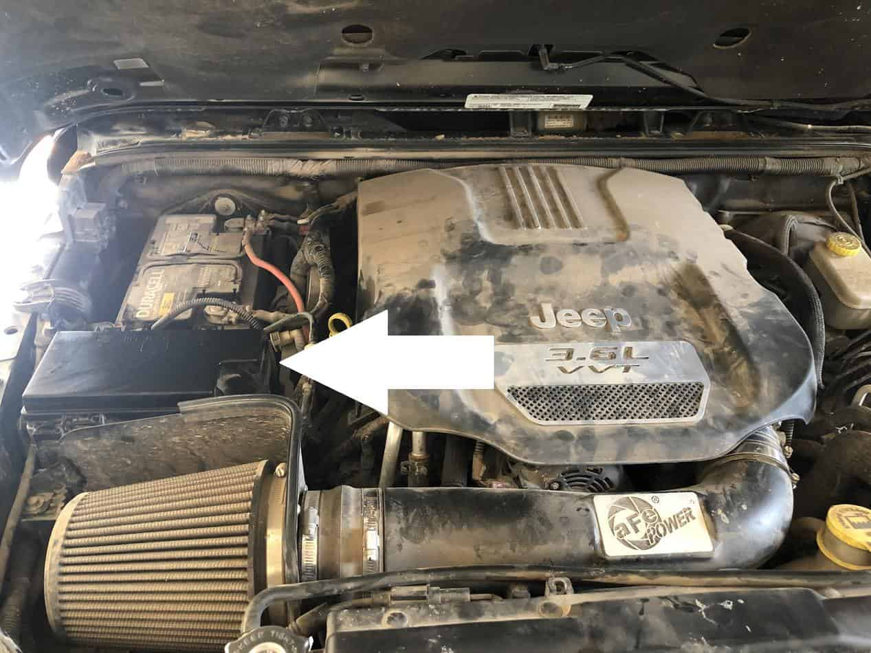 where is the jeep wrangler fuse box? - jeep kingdom  jeep kingdom